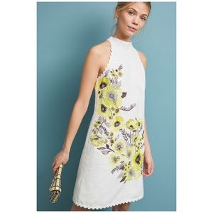 Anthropologie Maeve Petunia Shift Dress